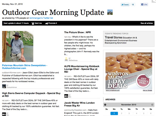 Outdoor Gear Morning Update