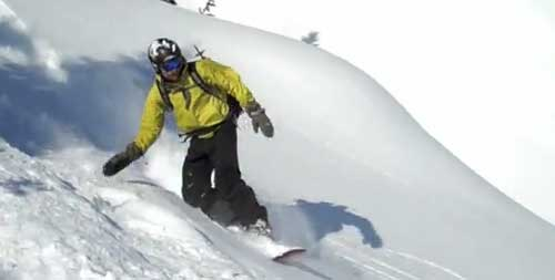 Splitboarding with Sam Haraldson