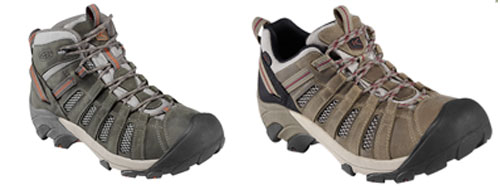 Hiking shoes or hiking boots?