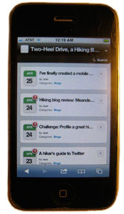 WPTouch ads mobile capability to wordpress blogs