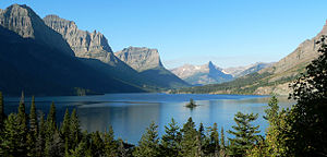 St. Mary Lake at Glacer National Park. Credit: Wikipedia